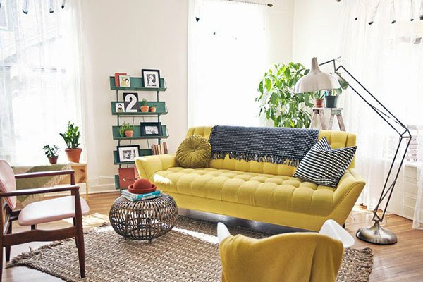 Spicing Up the Room: Mustard Yellow Living Rooms Simply hang from a shelf, ceiling or.