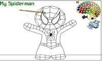Coloriage Spiderman Jeux Pour Enfants