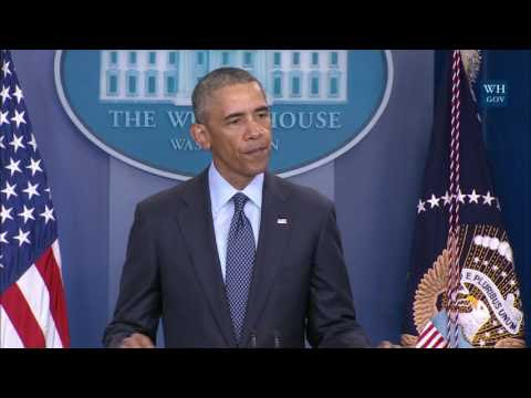 Obama speaks on the Orlando Shooting