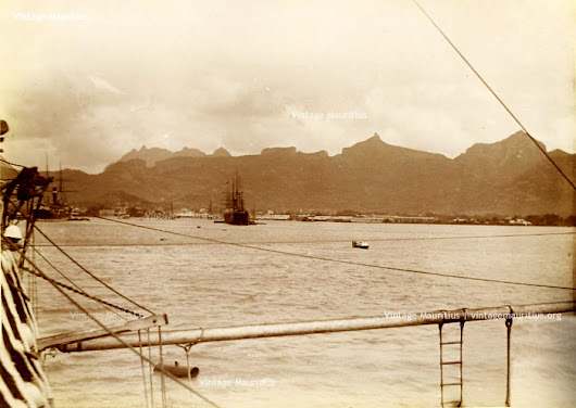 Port Louis - The Harbour and Shipyards - Vintage Mauritius