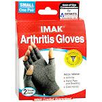IMAK Arthritis Gloves, Gray/Black, S
