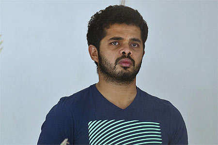 Sreesanth denied bail; cops invoke MCOCA against him - The Times of India