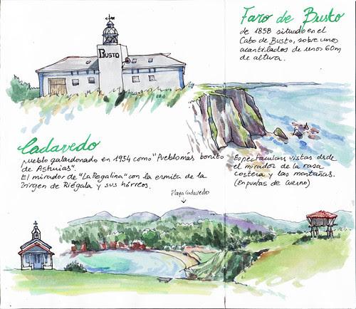 Cadavedo y Faro de Busto