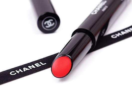Chanel Sommer 2017 Les Indispensables de L'Ete Collection (Cruise Collection) Rouge Coco Stylo 227 Esquisse