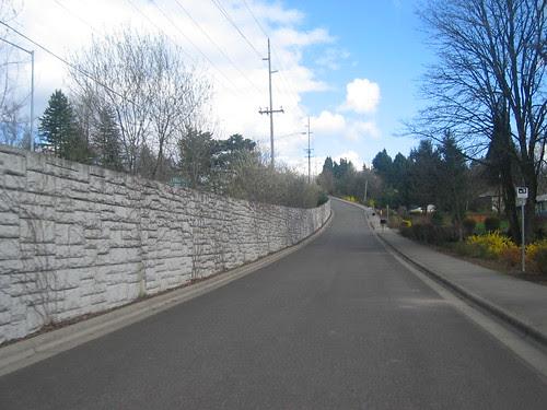 Pointer Rd, whacking steep