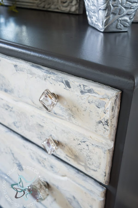 How to Plaster Furniture ~- Designed Decor