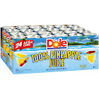 Dole 100% Pineapple Juice - 24 pack, 8.4 fl oz cans