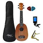 21 inch Mahogany Soprano Ukulele Hawaiian Guitar, 21P full set / 21 inches