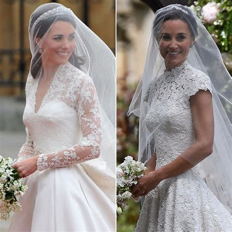 See Kate and Pippa Middleton's Sweetest Wedding Moments
