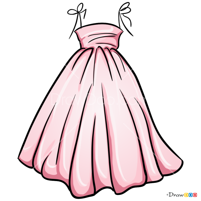 30 Top For Cute Dress Drawing Png