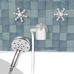 Handheld Showerhead Guide The Basics Homeabilitycom