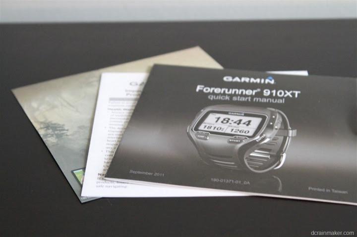 Garmin FR910XT Manual