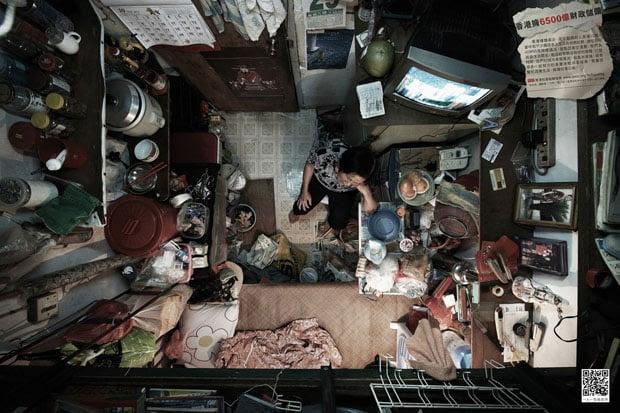 Cramped Apartments in Hong Kong Shot From Directly Above hongkongabove 5