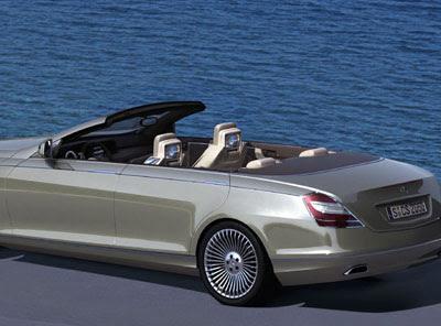 Concept Ocean Drive four-door convertible - BenzInsider ...