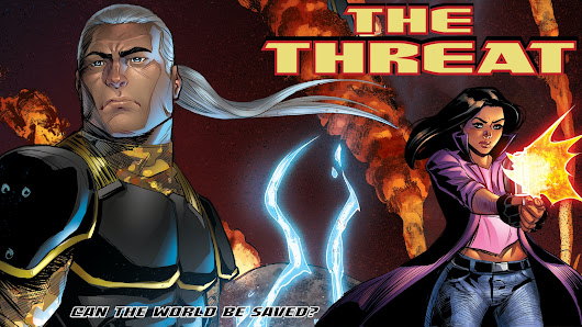 THE THREAT Comic Series