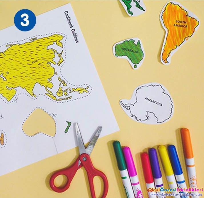 El Yapımı Dünya Yapalım Okul öncesi Etkinlikleri Hayallerinizi