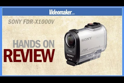 Sony Fdr X1000v 4k Action Cam Review