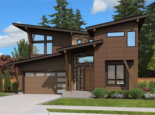 Sketsa Rumah Minimalis 2 Lantai Dengan Taman Luas Rumahminimalis Com