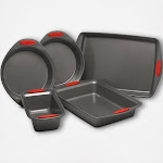 Rachael Ray Yum-O 5-Pice Nonstick Oven Lovin' Bakeware Set, Red