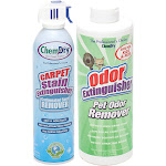 Chem-Dry Carbonated Spot and Pet Odor Remover Combo Pack - Cleaner / deodorizer - professional