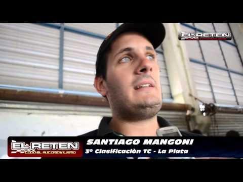 "3ro MANGONI: ""ME VEO CAMPEÓN, ME TENGO CONFIANZA"""