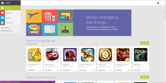 Google Revises Web Version of Android App on Play Store - Tech Buzzes