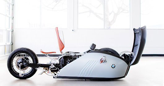 Exclusive: The BMW 'Alpha' land speed motorcycle concept