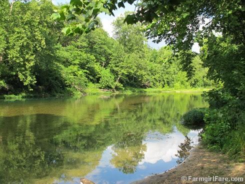 (2) Afternoon at the river - FarmgirlFare.com