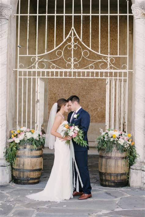 Lakeland Florida: Breanna and Clif's Rustic Easter Wedding