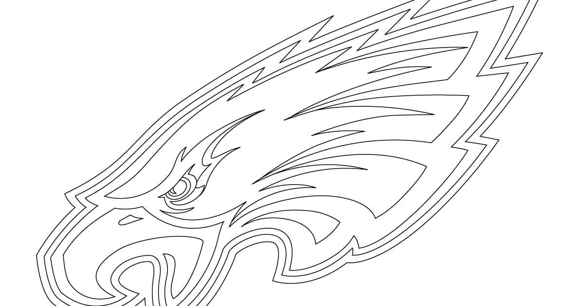 Philadelphia Eagles Coloring Pages Printable | Thousand of ...