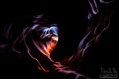 The Heart of Antelope Canyon, Upper Antelope Canyon, Navajo Nation, Arizona