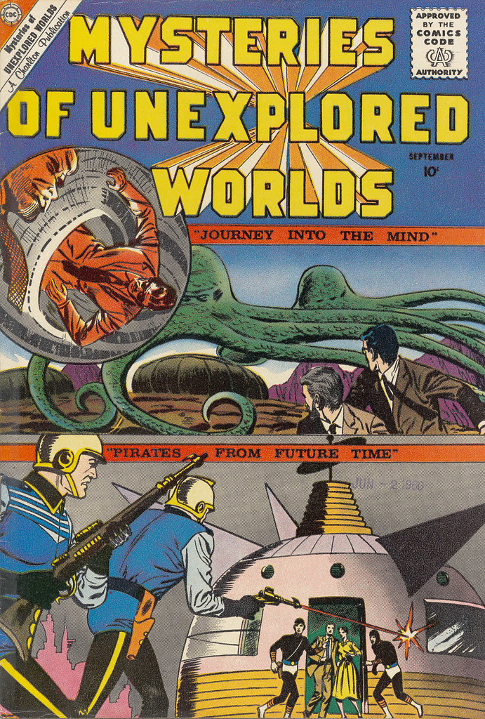 Mysteries of Unexplored Worlds #20 (Charlton, 1960)