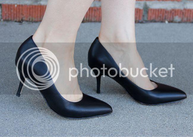 Ukies Arianna black leather pumps, Ukies Arianna heels black Nappa