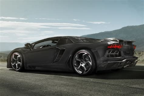 Lamborghini Aventador Gets a Full Carbon Fiber Treatment from Mansory Carscoops.com