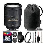 Nikon AF-S NIKKOR 28-300mm f/3.5-5.6G ED VR Lens for D500 D610 D750 D810 + 32GB