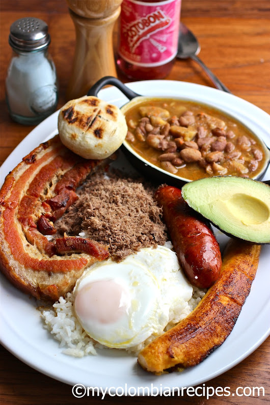 Bandeja Paisa | My Colombian Recipes
