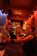 Cindy and Sugarbunni At Cafe Van Kleef