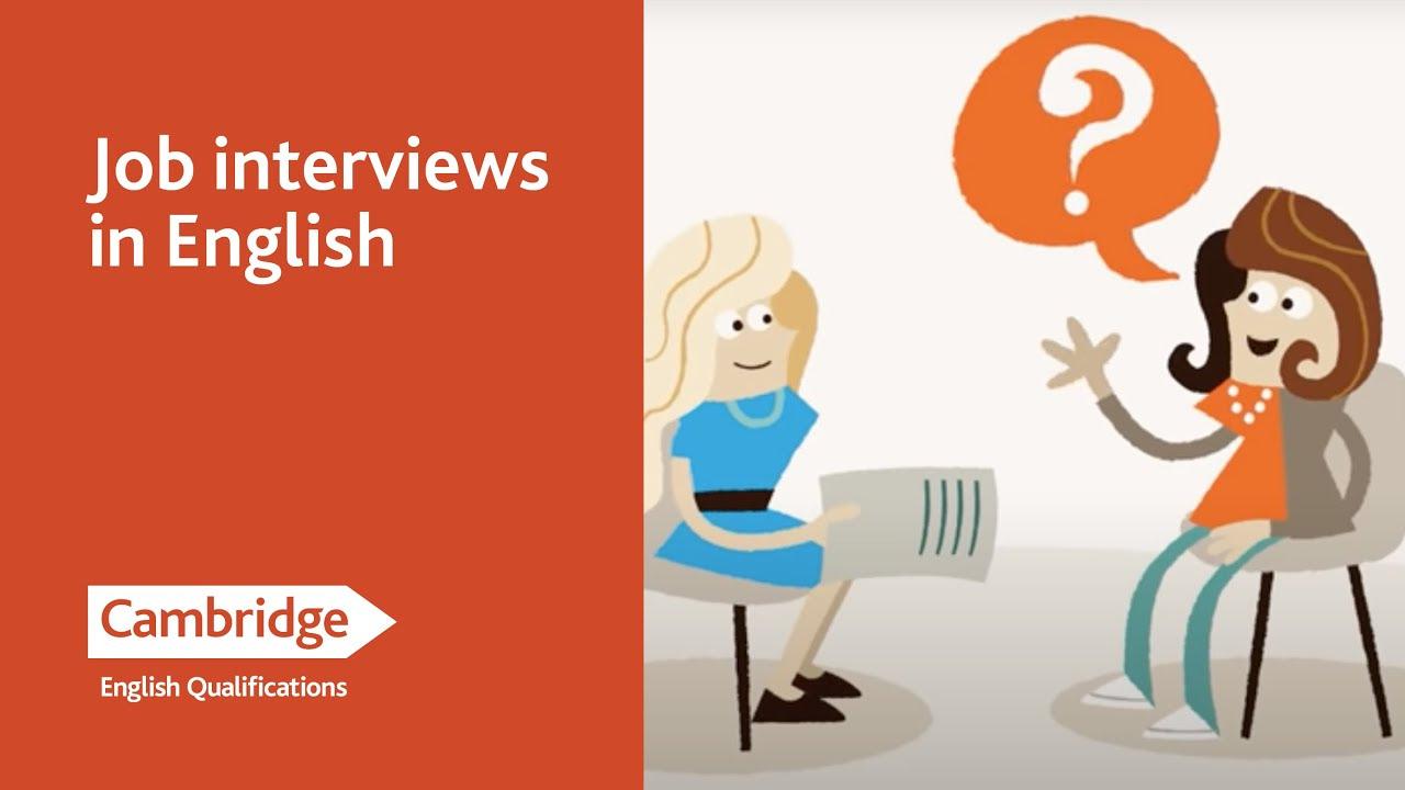 English Language Learning Tips - Job Interviews in English ...