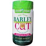Green Foods Barley Cat Powdered Barley Grass Juice, Feline Formula - 3 oz