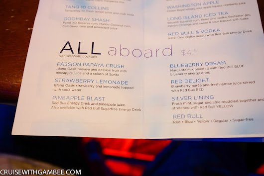 Royal Caribbean Drink Prices - cruise with gambee
