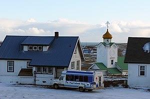 St. Paul Island, Alaska, on Nov. 6, 2010. Abou...