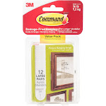 Command Strips, Picture Hanging, Large, Value Pack - 12 pairs