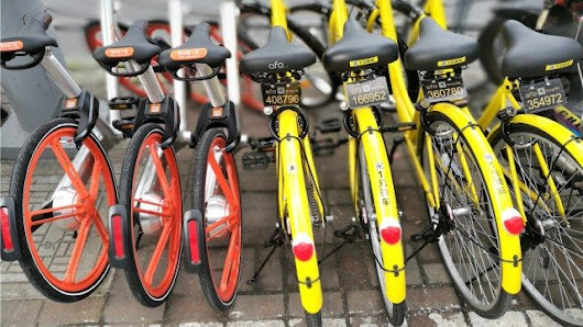[Infographic] The differences between Mobike and Ofo