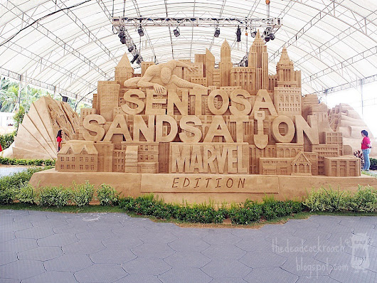 Sentosa Sandsation 2018 - MARVEL Edition