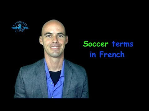 Learn French - Soccer / Football Vocabulary