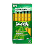 Dixon Ticonderoga Company DIX13872 Original Ticonderoga Pencils 96Bx Unsharpened