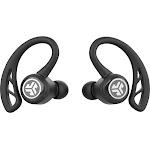 JLab Audio - Epic Air Elite True Wireless Earbud Headphones - Black