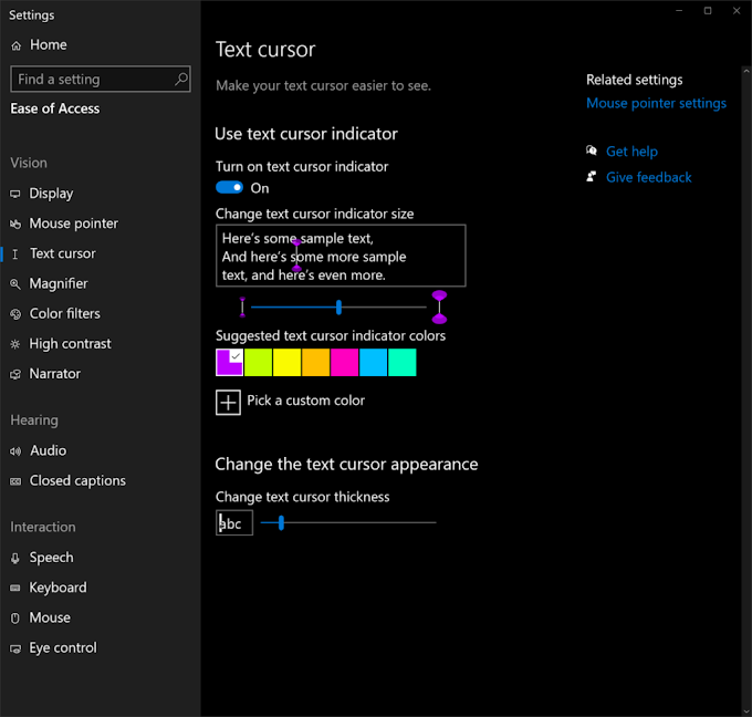 What's coming in Windows 10 accessibility