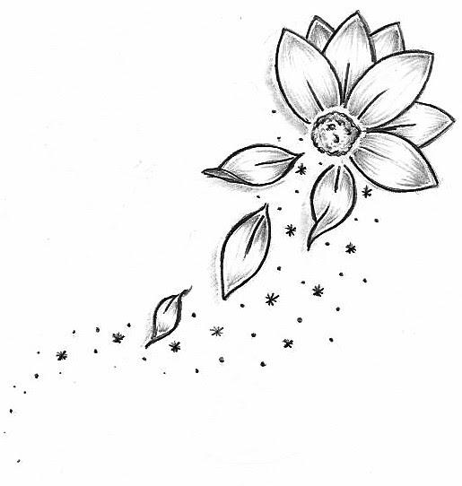 Flower Tattoo Design