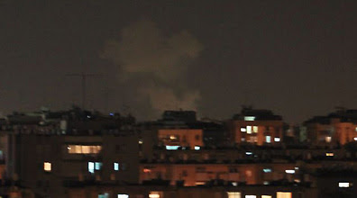 Rocket attack on Rishon Lezion (Photo: Naor Eini)